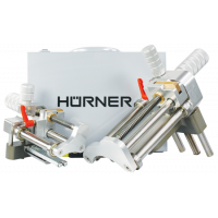 HÜRNER - Rotačné lúpacie zariadenie univerzálne 4 veľkosti